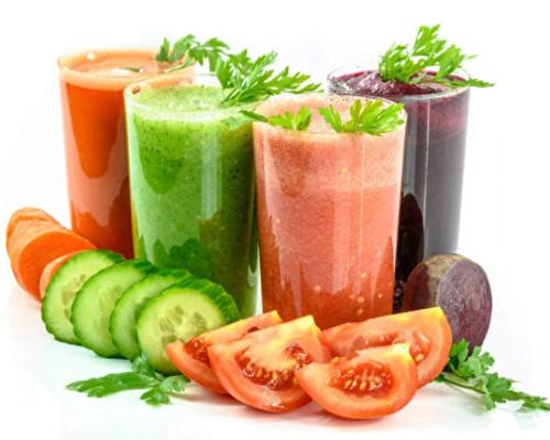 Овощные соки — живительный и омолаживающий напиток
