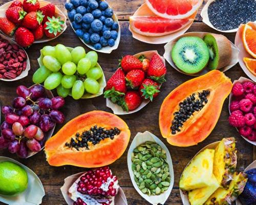 40 видов фруктов и ягод для вегетарианца
