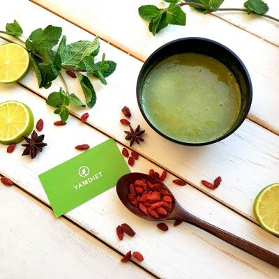 Зеленый суп детокс detox